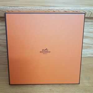 Hermes small square gift *empty* box